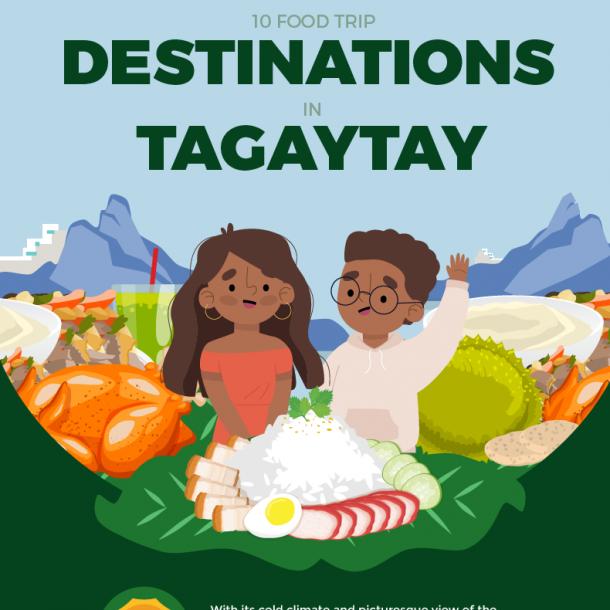10 Food Trip Destinations in Tagaytay